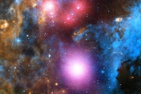 NASA обнародовало красочный снимок космоса