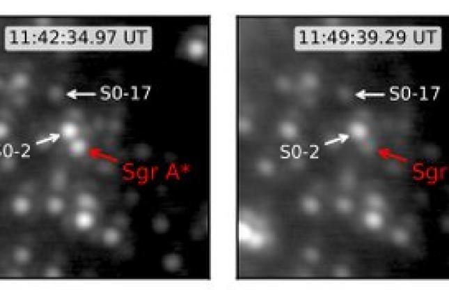 Ученые заметили вспышку в центре сверхмассивной черной дыры