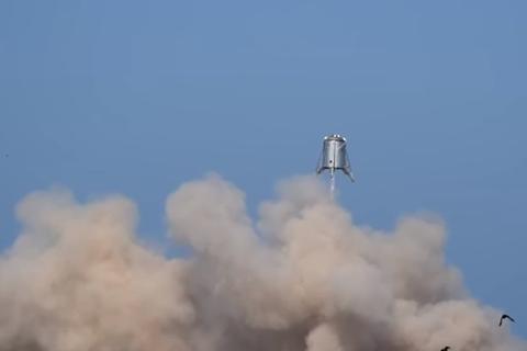 Компания SpaceX испытала марсолет Starhopper