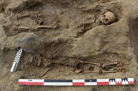 В Перу археологи нашли останки 227 детей, принесенных в жертву