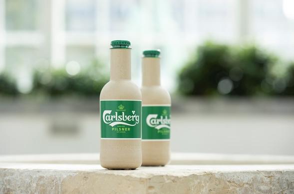 Пивная компания придумала бумажную бутылку для пива