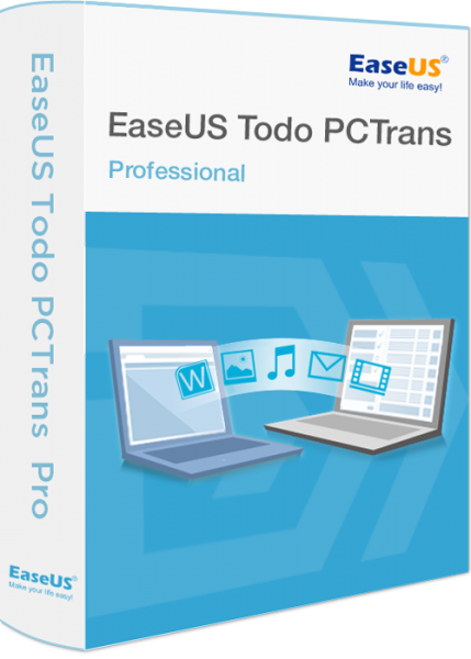 Как перенести данные с EaseUs Todo PCTrans?