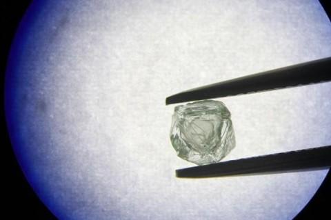 В Якутии найден уникальный алмаз-матрешка