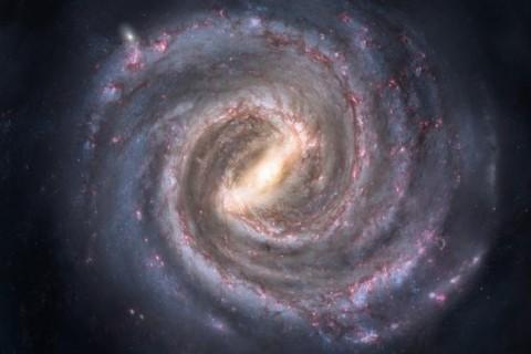 Сильная вспышка была замечена в центре Млечного пути