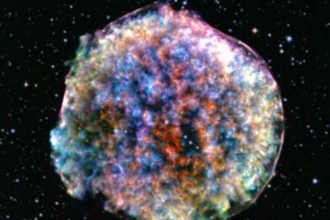Телескоп заснял взрыв звезды, который произошел 447 лет назад