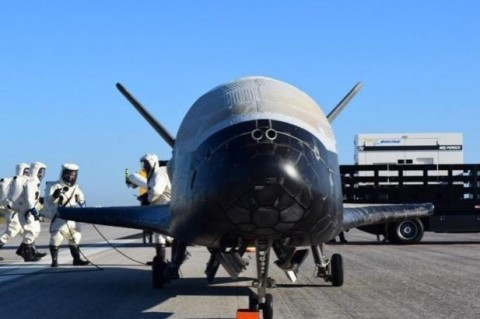 Из космоса вернулся космолет, участвовавший в секретной миссии NASA