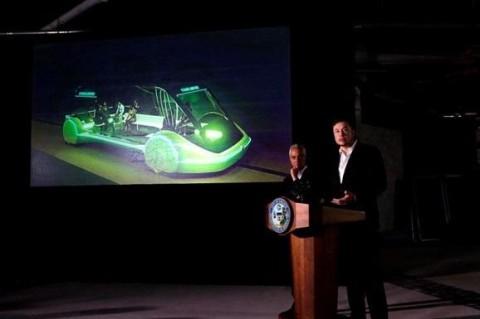 Илон Маск начал строительство туннеля под Лас-Вегасом