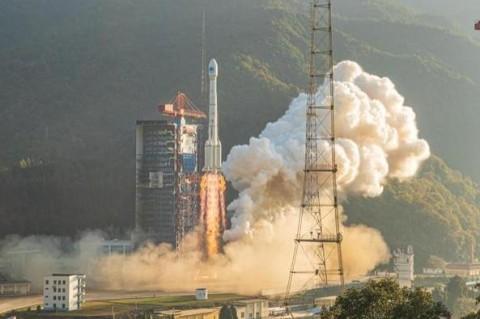 Два китайских навигационных спутника вышли на орбиту