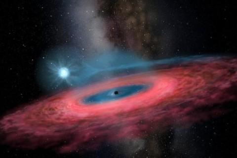 В Млечном Пути нашли черную дыру в 70 раз больше Солнца