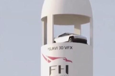 SpaceX собираются отправить Cybertruck в космос