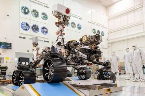 В NASA продемонстрировали тест марсохода Mars 2020