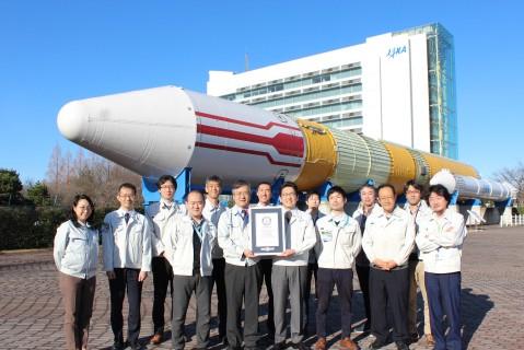 Испытательный аппарат Японского космического агентства попал в книгу рекордов Гиннесса