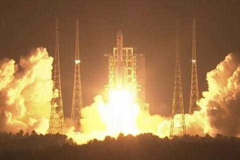 В Китае запустили самую мощную ракету в стране