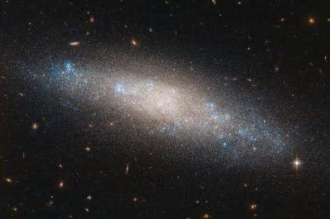 Телескопа Хаббла продемонстрировал снимок созвездия