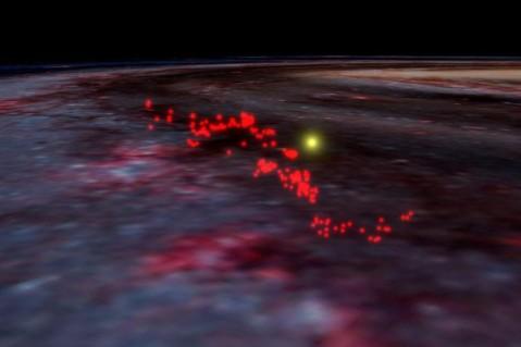 Ученые обнаружили звездообразующий газ между Землей и Солнцем