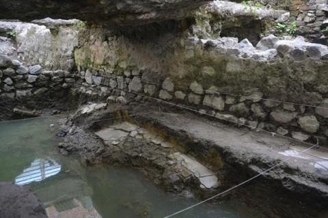 В Мексике археологи обнаружили баню индейцев XIV века