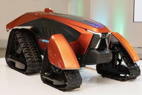 В Японии представили беспилотный трактор