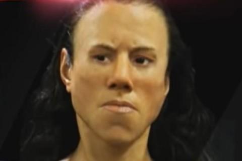 Ученые воссоздали внешность девушки, которая жила 9 тысяч лет назад