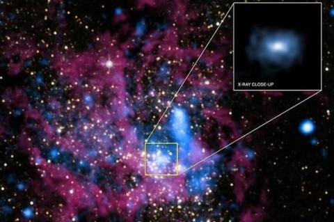 Черная дыра в нашей галактике набирает новые обороты