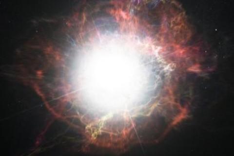 Ученые смоделировали взрыв звезды Бетельгейзе