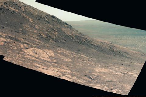 На Марсе обнаружили запасы воды