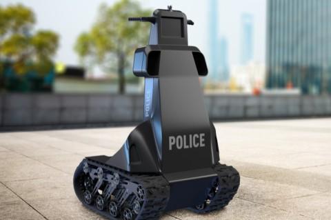 В Украине создали робота для патрулирования улиц