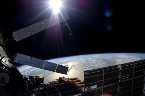 В NASA рассказали, что МКС в небе похож на яркую звезду