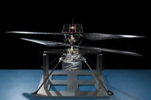 В NASA показали марсианский вертолет