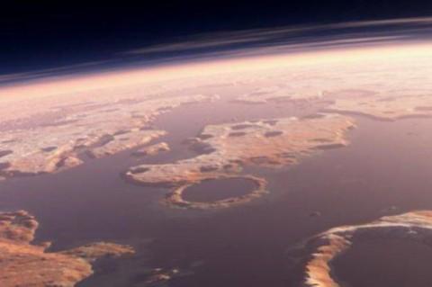 Ученые на Марсе обнаружили огромный водоем