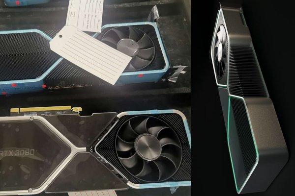 На китайском портале показали внешний вид Nvidia GeForce RTX 3080