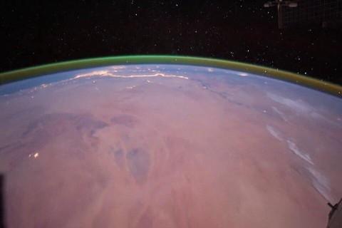 На Марсе обнаружили зеленое сияние