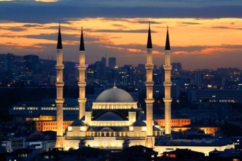 В NASA показали снимок ночной Анкары