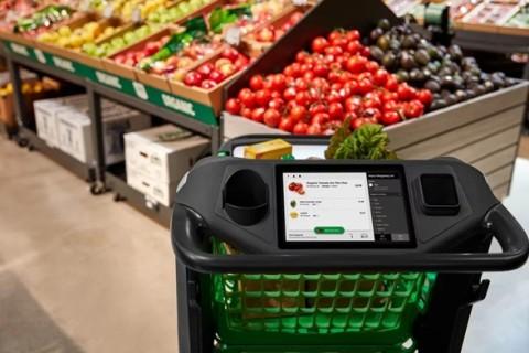 Amazon выпустил автономные умные тележки для супермаркетов