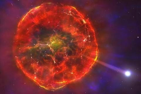 На скорости 900 тысяч км/ч в Млечный Путь врезалась звезда