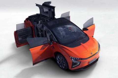 В Китае создали автомобильного конкурента Tesla