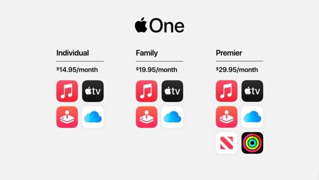 Новое обновление: Apple объединили все сервисы в одну подписку