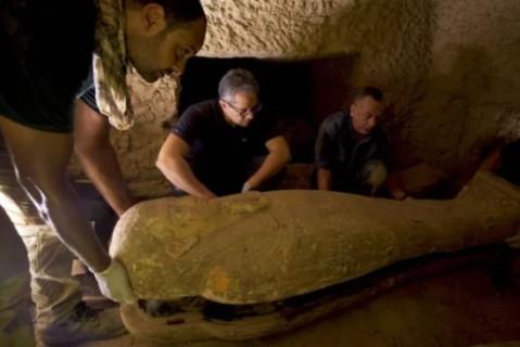 В Египте обнаружили захоронение, которому более 2 тысяч лет