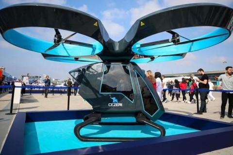 В Турции прошли испытания первого летающего автомобиля