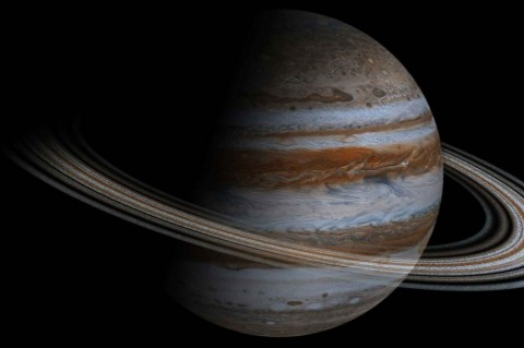 Астрономам удалось запечатлеть затмение на Юпитере