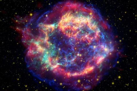 В NASA музыкальными инструментами озвучили фотографию космоса