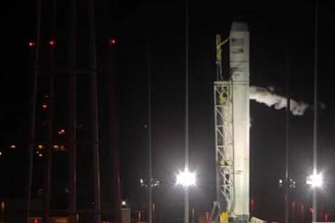 В США американско-украинская ракета Antares была успешна запущена в космос