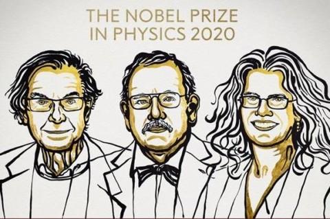 Трое физиков получили Нобелевскую премию 2020 за исследование черных дыр