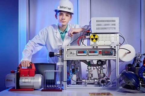 Действующий атомный реактор собрал у себя дома 12-летний подросток