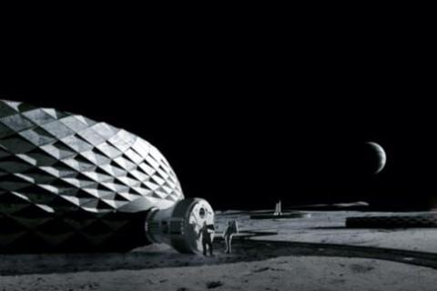 NASA на 3D-принтере напечатает дома для жизни на Луне