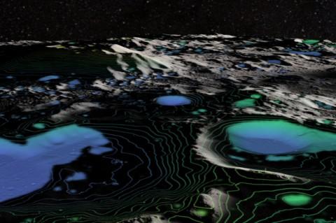 На Луне ученые впервые обнаружили воду