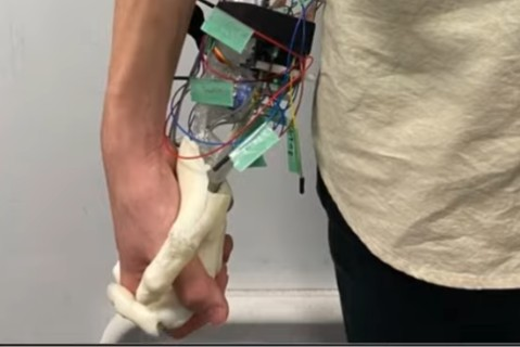 Для одиноких: в Японии создали устройство имитирующее женскую руку
