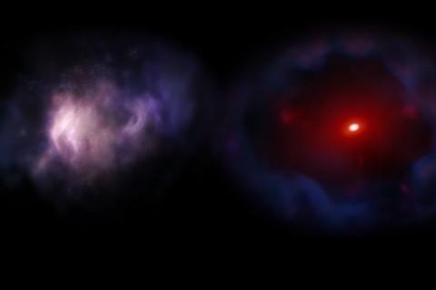 Времен Большого взрыва: ученые нашли мертвую галактику внутри Млечного пути