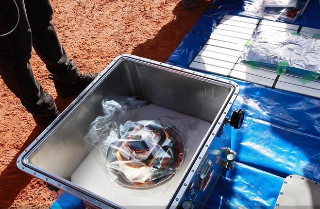 Японские ученые отыскали сброшенную капсулу с пробами грунта с астероида