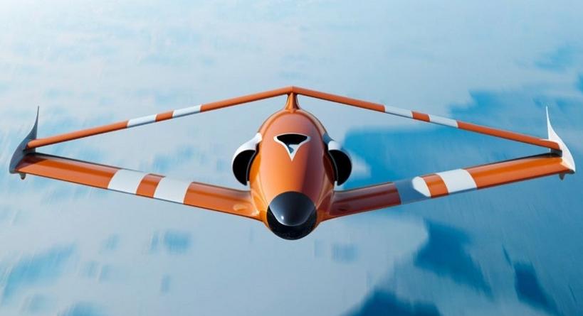 Во Франции создали дрон с необычными крыльями в виде ромба