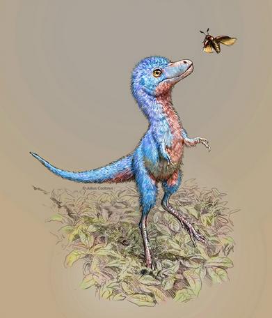 Ученые показали, как выглядели детеныши тиранозавров